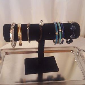 Closet cleanout. Assortment of bracelets.